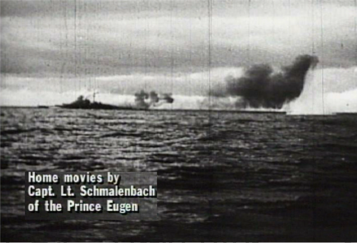 Home movies by Capt. Lt. Schmalenbach of the Prince Eugen
